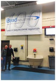 bead industries centennial banner
