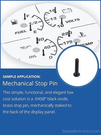 Mechanical Stop Pin