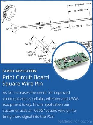 PCB Square Wire