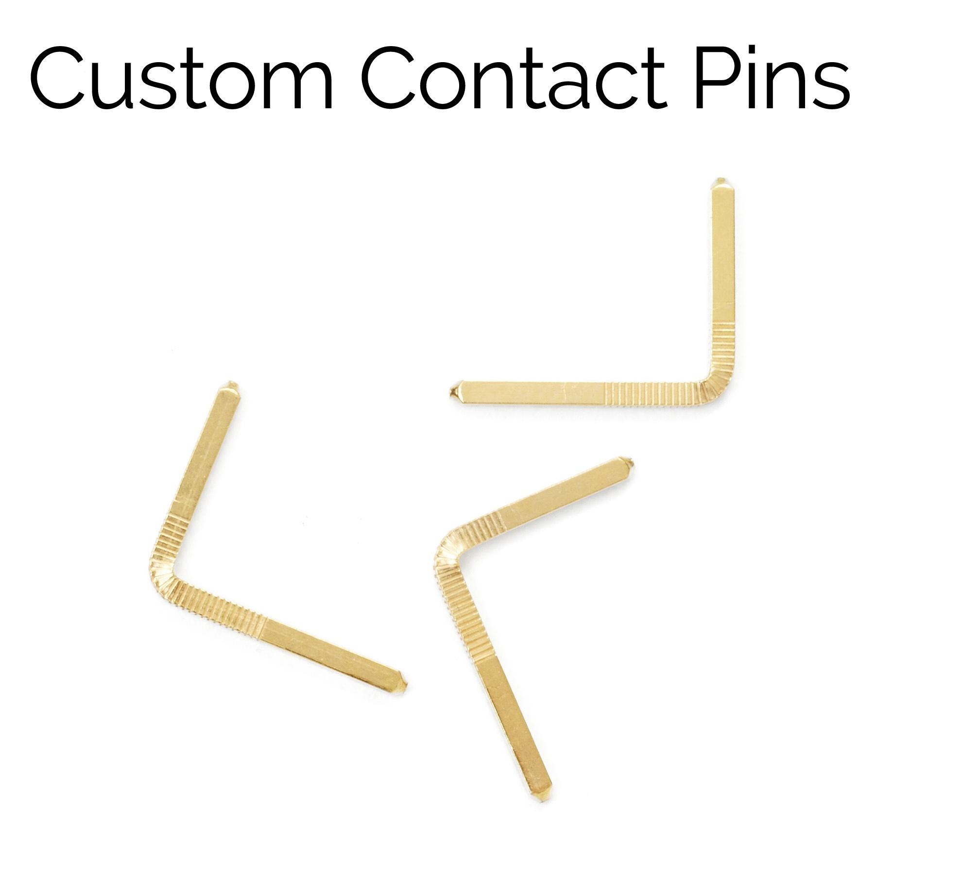 Custom Contact Pins